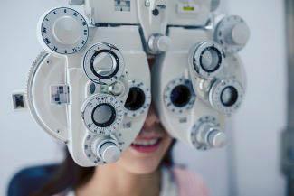 eye exam machine