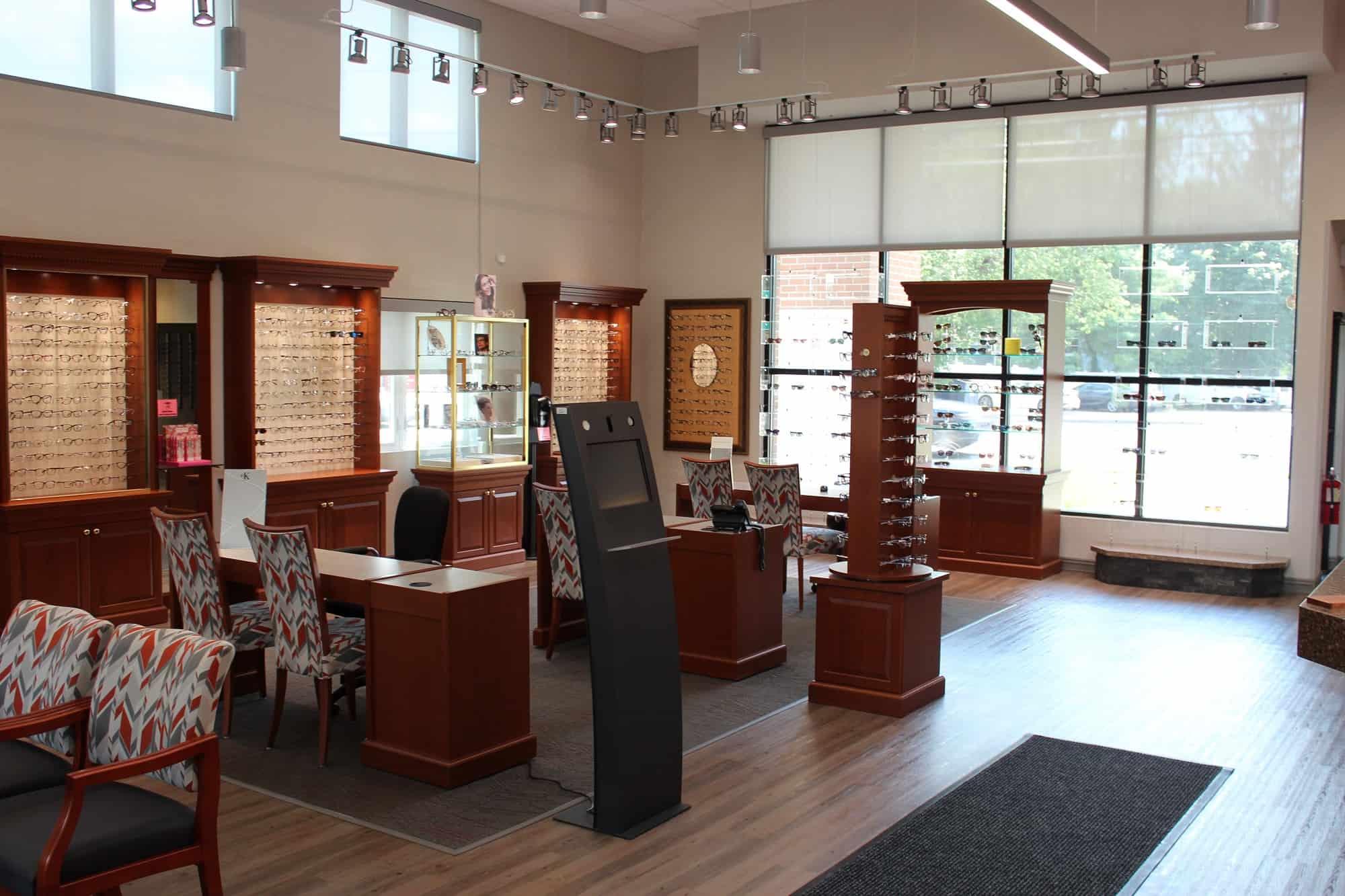 suffolk county eye doctor showroom